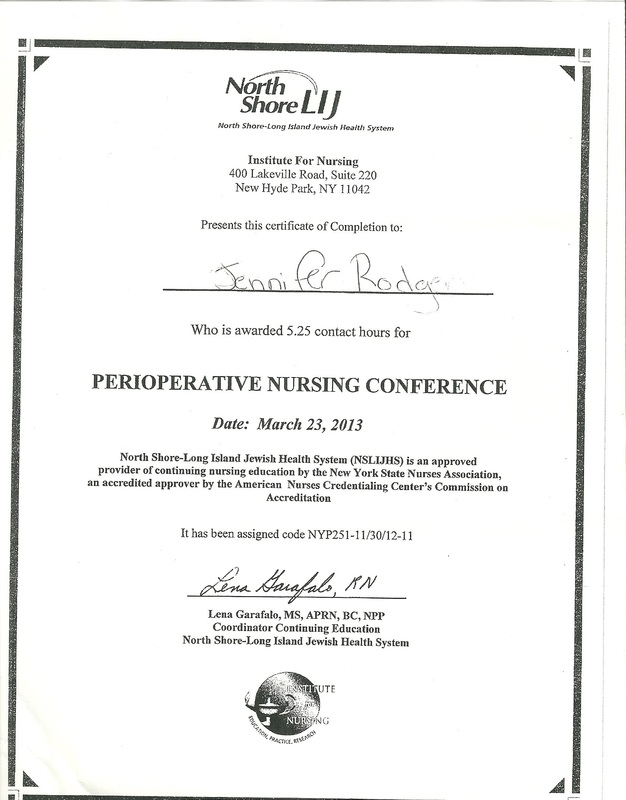 Advanced Practice Nurse Documentation Jennifer L Rodgerseportfolio
